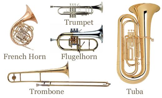 Image result for brass quintet instruments